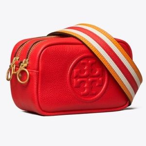 Tory Burch Perry Bombe Pieced Strap Mini Bag!!
